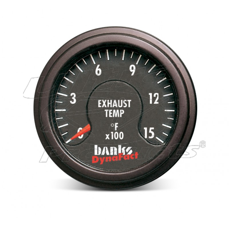 64009 - Banks Power Exhaust Gas Temperature Gauge Kit For Diesel Pushers