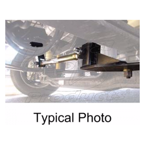 TRAC-F550 - Front TruTrac Rod for Ford F53 14k-18k GVWR (2009+)