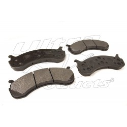W8810906-US - High Performance W20 & W22 Brake Pad Set (Carbon Metallic)