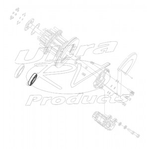 00457439  -  Bearing Asm - Rear Wheel