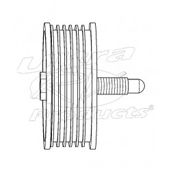 12580774  -  Pulley Asm - Belt Idler