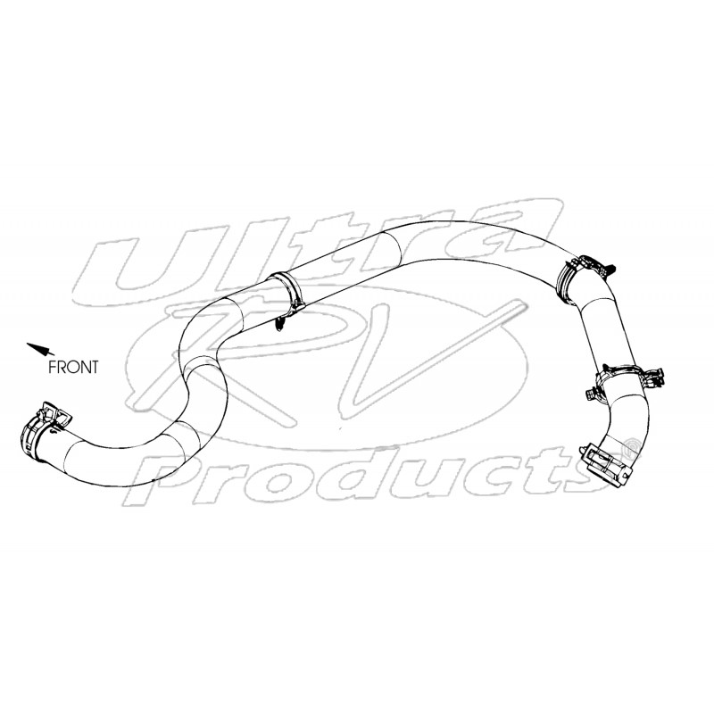 Ford E450 Exhaust System