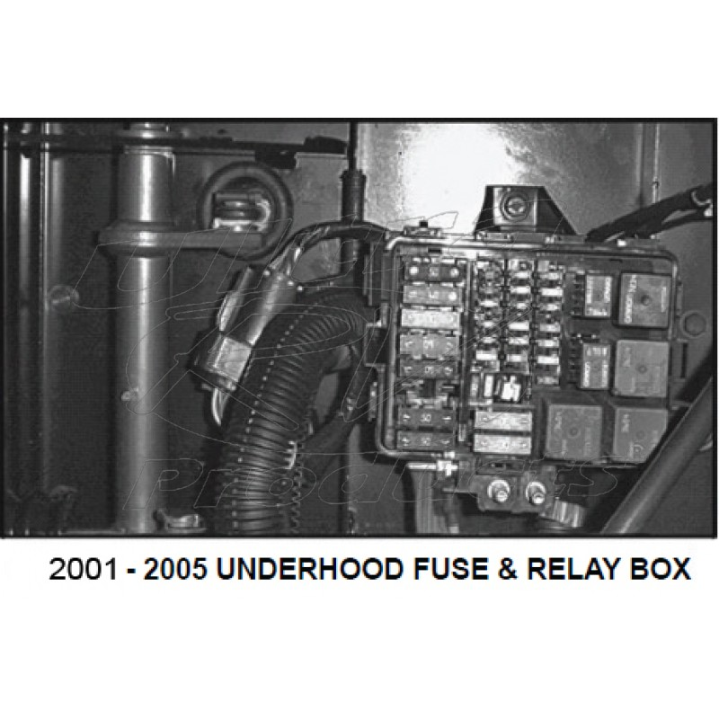12162365 - 01-05 W-Series & P-Series Fuse/relay Box Cover - Workhorse Parts | Workhorse Fuse Box |  | Ultra RV Products