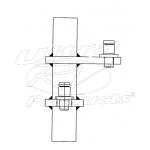 W0008642  -  Lever Asm - Brake Pedal Rod