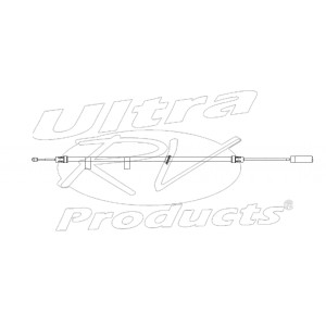 """W0009488  -  Cable Asm - Park Brake Front (~94"""")"""