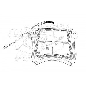 16868338  -  Steering Wheel Cap Contact Asm