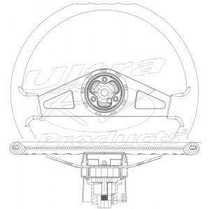 "W0007801  -  Upgraded Steering Wheel, 18"""