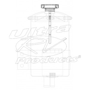 W8001426  -  Power Steering Reservoir Cap And Dipstick Asm