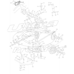 00332815  -  Bracket - Engine and Bell Housing Reinforcement