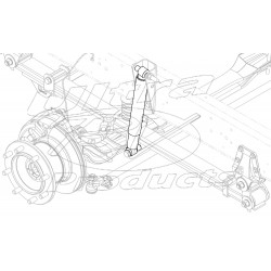 W0006254  -  Shock Absorber - Front