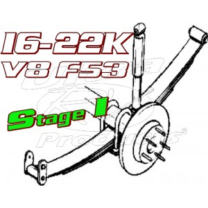 Stage 1  -  2021+ Ford F53 V8 Class-A 16-22K GVWR Handling Kit