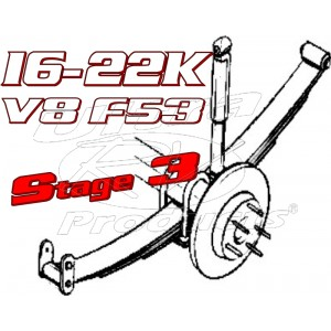 Stage 3  -  2021+ Ford F53 V8 Class-A 16-22K GVWR Handling Kit