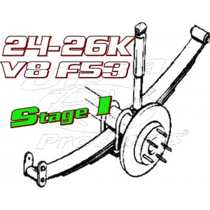 Stage 1  -  2021+ Ford F53 V8 Class-A 24-26K GVWR Handling Kit