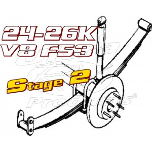 Stage 2  -  2021+ Ford F53 V8 Class-A 24-26K GVWR Handling Kit