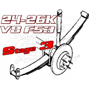 Stage 3  -  2021+ Ford F53 V8 Class-A 24-26K GVWR Handling Kit