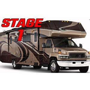 Stage 1  -  Chevrolet Kodiak C4500 / C5500 Class-C Handling Kit