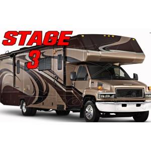 Stage 3  -  Chevrolet Kodiak C4500 / C5500 Class-C Handling Kit