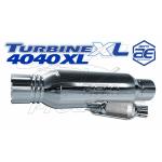 """AT4040XL - Aeroturbine 4"""" Resonated Muffler"""