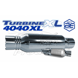 "AT4040XL - Aeroturbine 4"" Resonated Muffler"