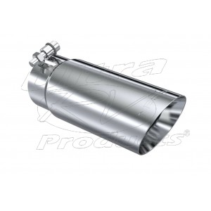 "T5114 - Stainless Steel Exhaust Tip - Dual Wall for 3"" pipe"
