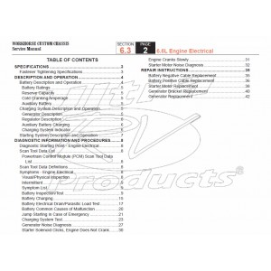 2005-2007 Workhorse LF72 Engine Electrical Service Manual Download