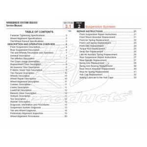 2005-2007 Workhorse LF72 Suspension Service Manual Download