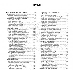 1999-2003 Workhorse HVAC Service Manual Download