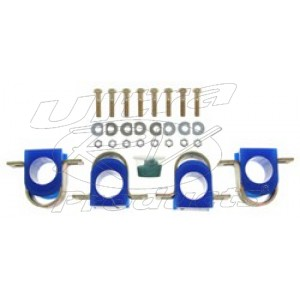 """4109-109 Factory Front Anti-sway Bar Poly Bushing Kit For P-chassis 1-1/4"""""""