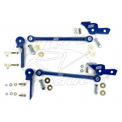 SS403RR - Ford F53 2010+ SuperSteer Front Radius Rod Kit