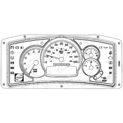 105297S - Workhorse Actia Instrument Cluster *Replacement