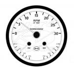 104561S - Round Actia Slave Gauge Instrument Cluster Repair Service