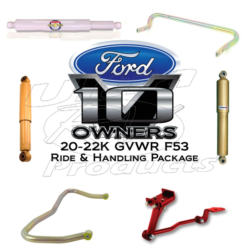 ford f53 motorhome chassis upgrades