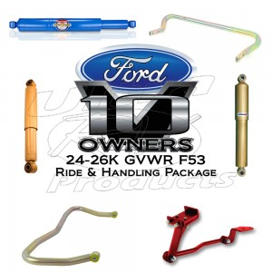 Ford F53 Ride Enhancement Kit (24-26K GVWR)