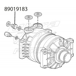 89019183  -  Switch Asm - Air Compressor High Press Cutoff
