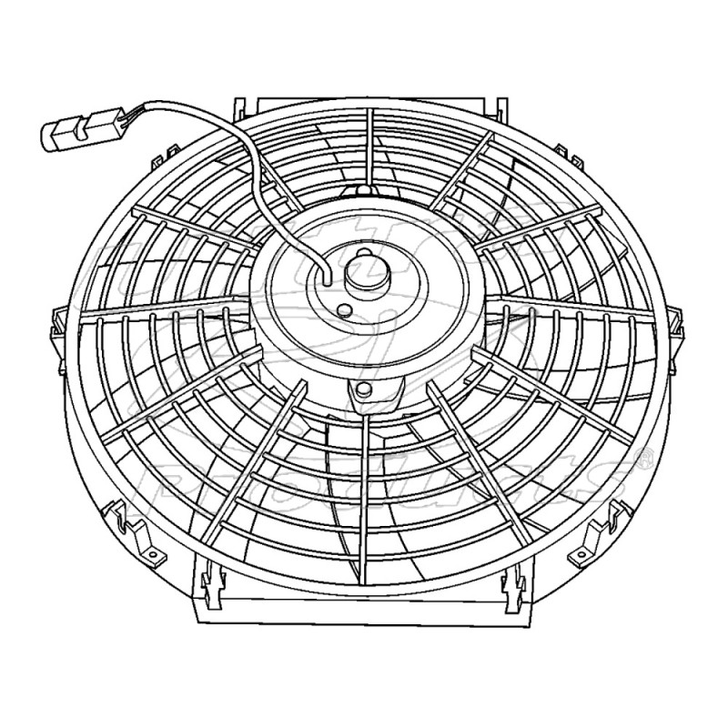 W8000087 - Workhorse Electric A/c Fan Asm - Workhorse Parts | Workhorse Wiring Diagram Radiator Fans |  | Ultra RV Products