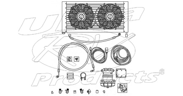 W8003094 - Crystal Air A  C Kit  A  C Upgrade System For W-series