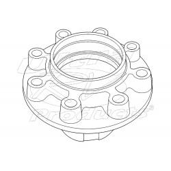 00352982  -  Hub - Rear Wheel (P42 w/ Drum)