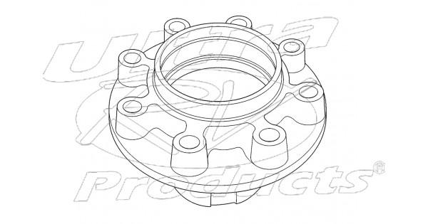 00352982 - hub - rear wheel  p42 w   drum