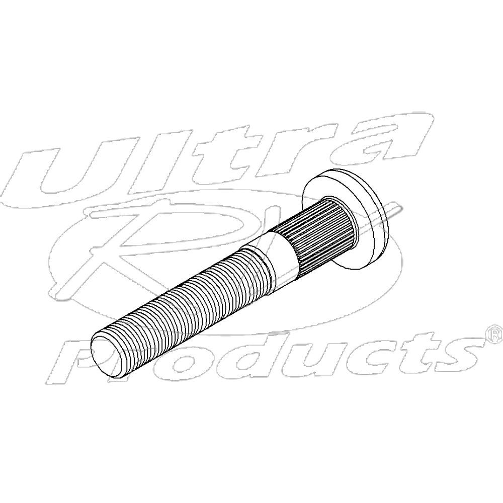 00355815  -  Stud - Rear Wheel (.562 x 18.00 x 3.590)