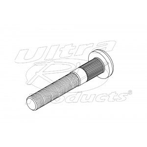 00355815  -  Stud - Rear Wheel (.562 x 18.00 x 3.590)