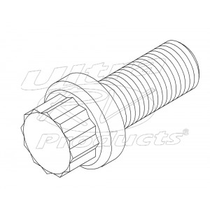 00458300  -  Bolt - Rear Driveline U-joint Strap