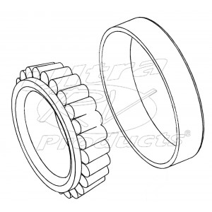 W8003791  -  Bearing Asm - Rear Wheel Outer