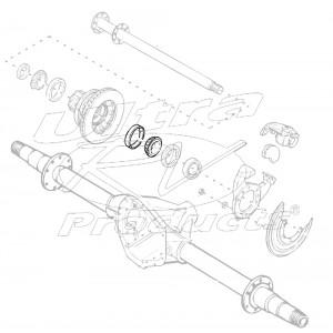 09412028  -  Bearing Asm - Rear Wheel Inner (4 Wheel Disc)