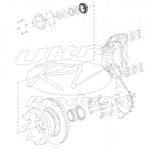 W8001249  -  Wheel Bearing Cone Asm - Outer