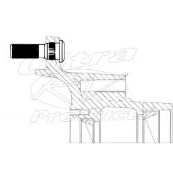 W8002187  -  Wheel Stud - M22 X 1.5 2.9 In Long