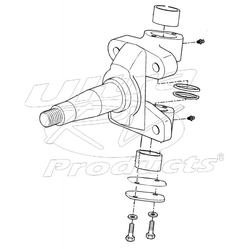 Steering Knuckle Repair Cost: Steering Knuckle (RH & LH)