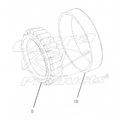 W8810211 - Rear Wheel Bearing Asm (Inner)