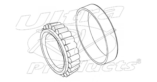 w8820008 - bearing - front wheel outer  set