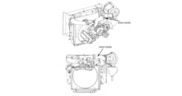 w0010096 - pipe-air cleaner outlet