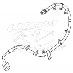 W0013608  -  Hose Asm - Rear Brake, RH